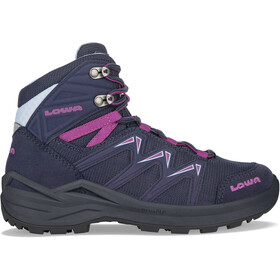 Lowa Innox Pro GTX Mid Shoes Kids, navy/berry